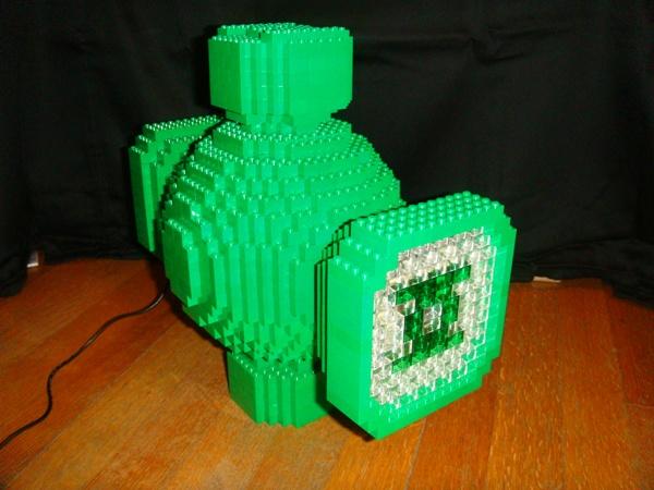 Lego Green Lantern Power Battery