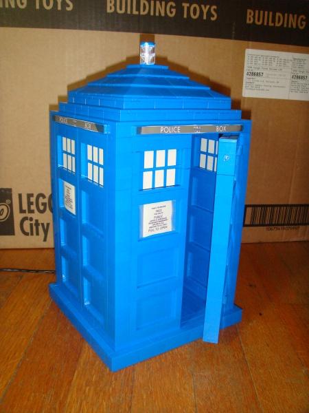 Lego TARDIS Panel