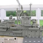 Lego USS  Intrepid 01