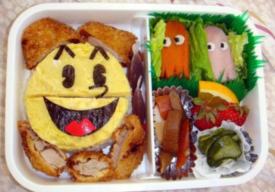 Pacman Bento Lunch Box