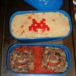 Space Invaders Bento Lunch Box