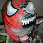 Spidy VS Venom Helmet1