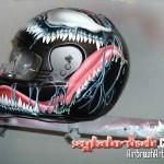 Spidy VS Venom Helmet3