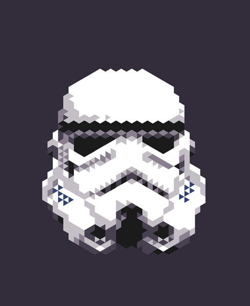Star Wars Triangle Art 1