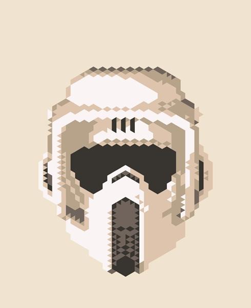 Star Wars Triangle Art 1