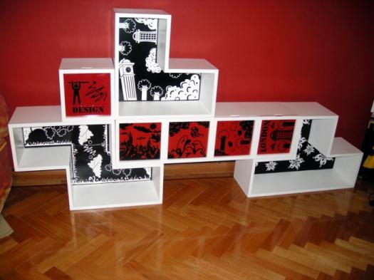 Tetris Shelf 1