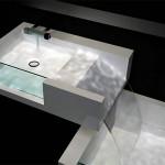 Wurfel or Falling Water Washbasin