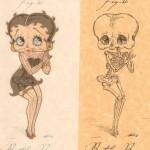 betty boop anatomy design image