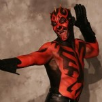 bizarre star wars costumes darth maul costume 1