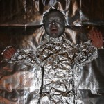 bizarre star wars costumes han solo frozen in carbonite costume 2