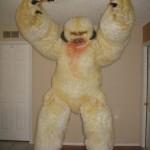 bizarre star wars costumes wampa costume 1