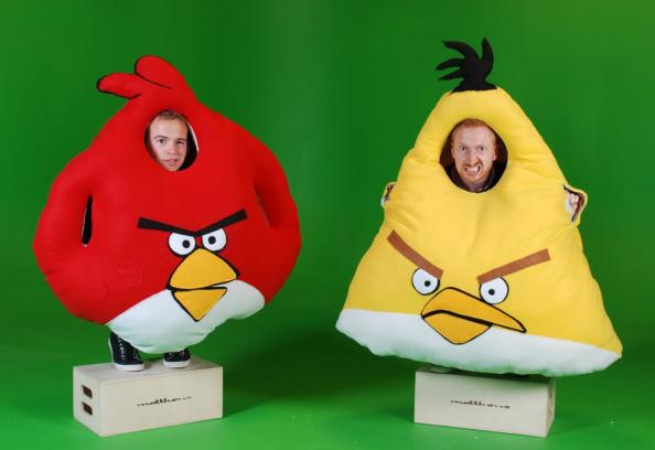 crazy angry birds costumes