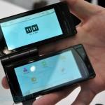 Fujitsu TouchScreen Phone