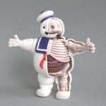 ghostbusters stay puft marshmallow man anatomy design