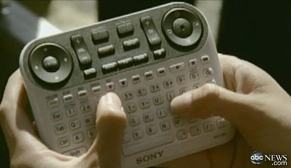 google tv remote control keyboard