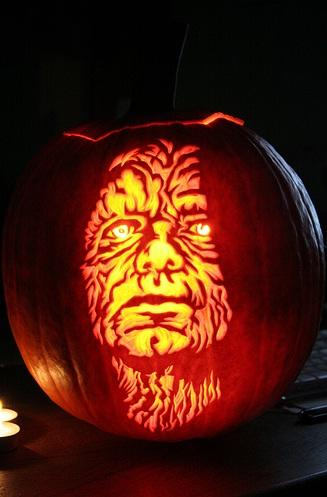 halloween pumpkin carvings artwork emperor