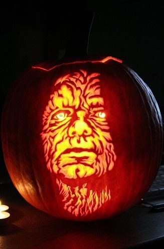 halloween pumpkin carvings artwork emperor