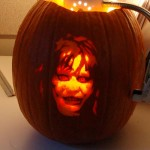 halloween pumpkin carvings artwork exorcist
