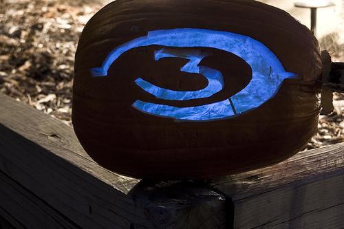halloween pumpkin carvings artwork halo