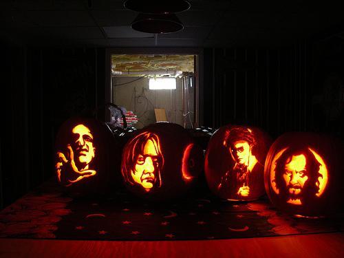 halloween pumpkin carvings artwork harry potter