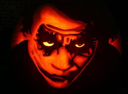 halloween pumpkin carvings artwork joker