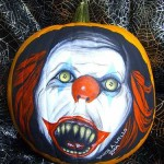 halloween pumpkin carvings artwork pennywise