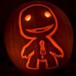 halloween pumpkin carvings artwork sackboy