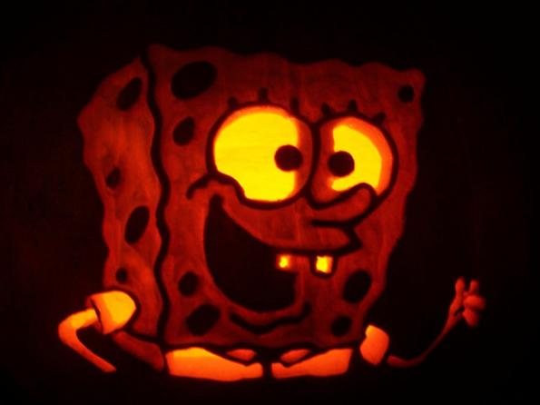 halloween pumpkin carvings spongebob squarepants 2