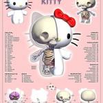 hello kitty anatomy design image