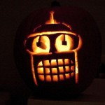 pumpkin carvings futurama bender 2