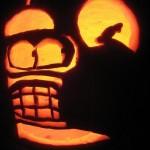 pumpkin carvings futurama bender 6
