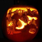 pumpkin carvings the simpsons 1