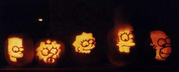 pumpkin carvings the simpsons 2