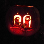 pumpkin carvings the simpsons alien 3