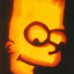 pumpkin carvings the simpsons bart simpson 1