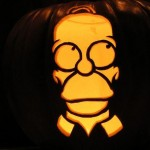 pumpkin carvings the simpsons homer simpson 5