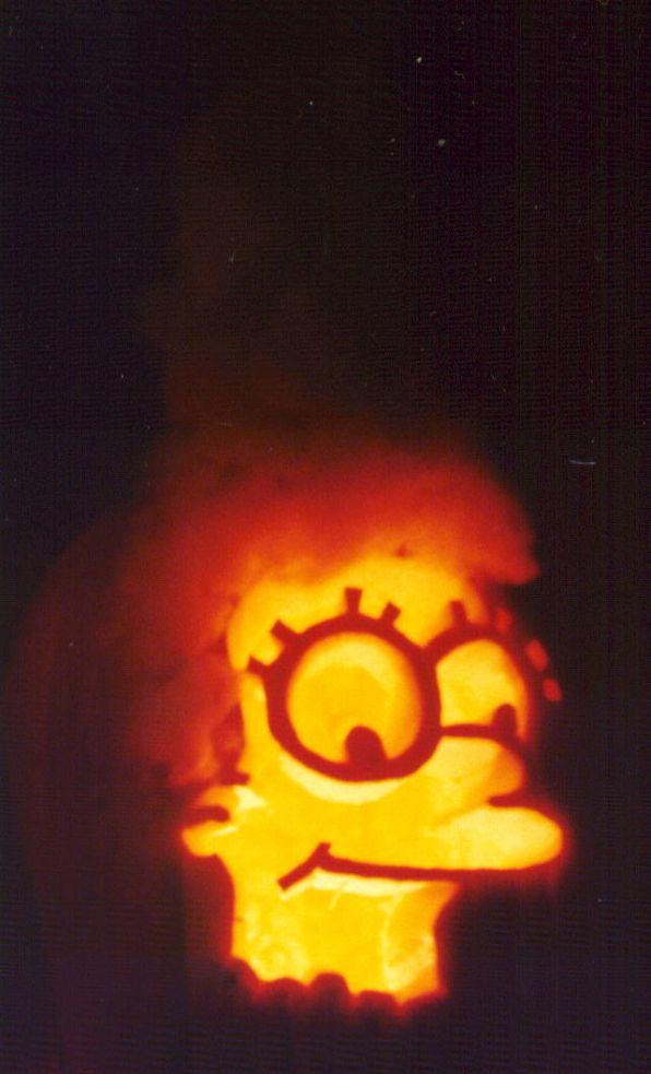 pumpkin carvings the simpsons marge simpson 1