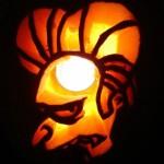pumpkin carvings the simpsons montgomery burns vampire 2