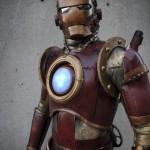 steampunk iron man comic con 2010 2