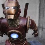 steampunk iron man comic con 2010 5