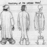 thug lige anatomy design image