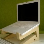unique wooden laptop