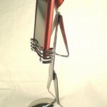 Bent Spoons and Forks iPhone Stand