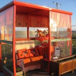 BUS SHELTER ATTEACTS THOUSANDS