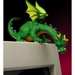 Curious Dragon Computer Topper