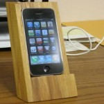 DIY Wooden iPhone Stand
