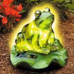Frog Garden Solar Light