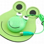 Frog Mouse and Mouse Pad