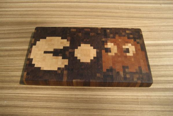 Pac Man Cutting Board