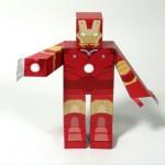 Iron Man paper toys